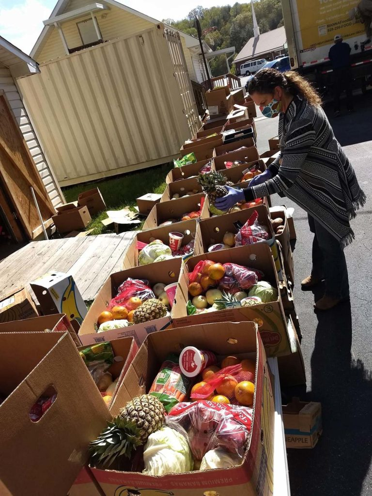 Beacon of Hope Food drive